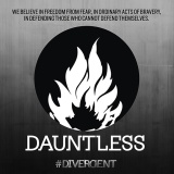 Check Out the New Divergent Faction Symbol: Dauntless