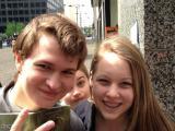 Lucky Fan Meets Shailene Woodley and AnselElgort