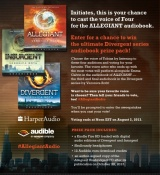 Vote for the Voice of Four in the Allegiant AudiobookNow!
