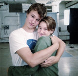 Shailene Woodley and Ansel Elgort working on TFIOS + TFIOS GIVEAWAY!