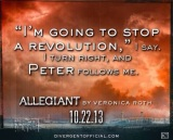 Just Released: Check Out This Brand New Quote of ALLEGIANT