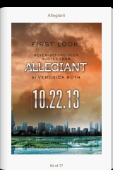 OFFICIAL: Check Out These 8 Brand New Quotes From ALLEGIANT