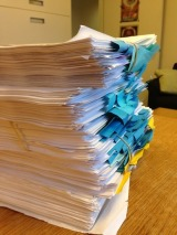 Check Out the Publisher's Notes on the ALLEGIANT Manuscript!