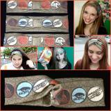 Awesome Custom Made DIVERGENT Headbands by Bitter Sweet Stories Designs