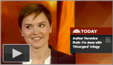 Veronica Roth Talks ALLEGIANT on the Today Show!