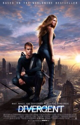 PHOTO: Official DIVERGENT Movie Theatrical Poster